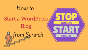 Create a WordPress website from scratch