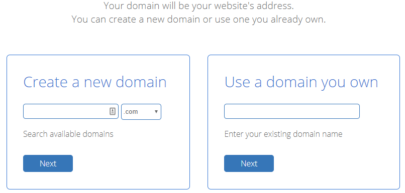 WordPress Domain Selection