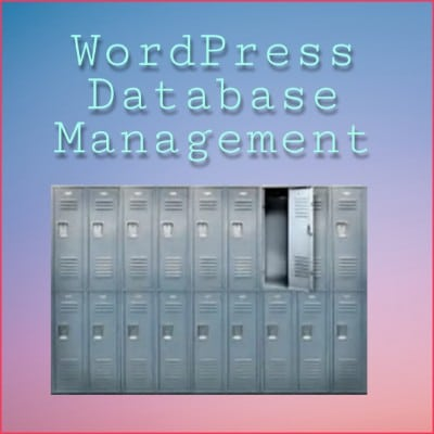 WordPress-database-management