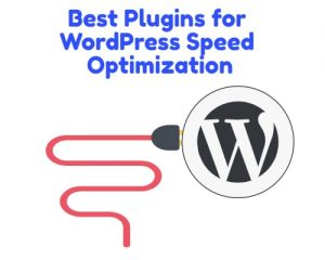Plugins to increase WordPress speed