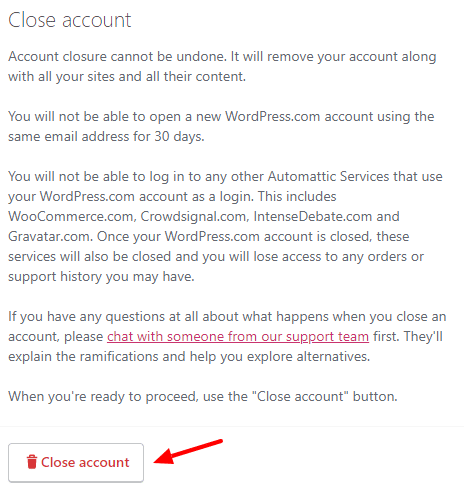 How to Delete Your WordPress User Account in 5 Easy Steps 4