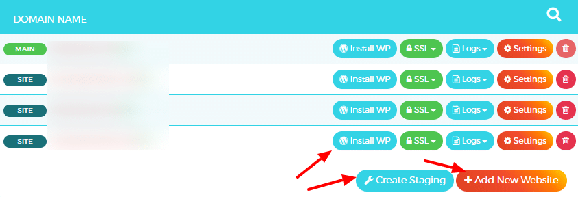 WPX Hosting - install WordPress