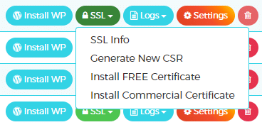WPXhosting - Install SSL certificate