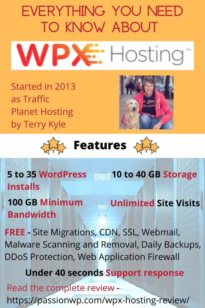 WPX Hosting complete features