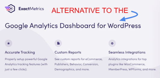 Alternative to Google Analytics Dashboard plugin for WordPress