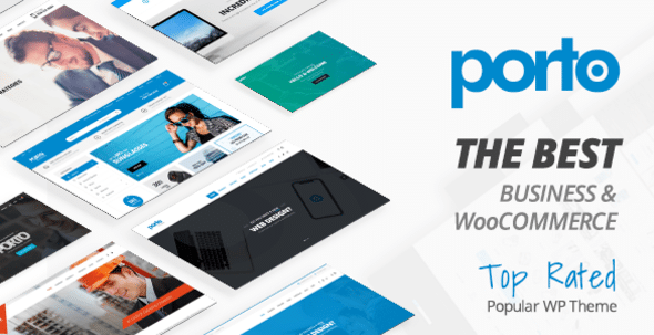Porto top rated woocommerce elementor theme