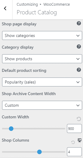 Astra WooCommerce theme product catalog