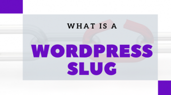What is a WordPress slug