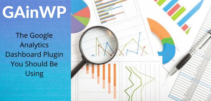 GainWP google analytics dashboard plugin