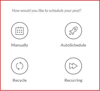 Publer scheduling options review