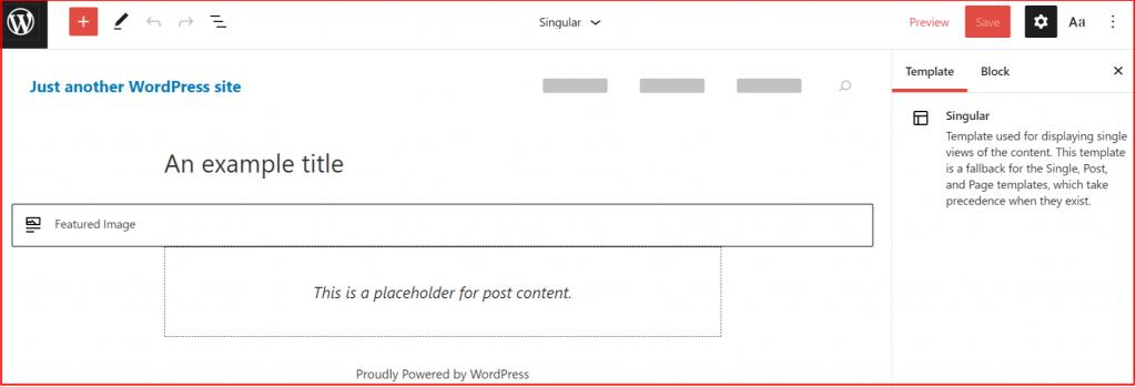 Blockbase-WordPress block theme