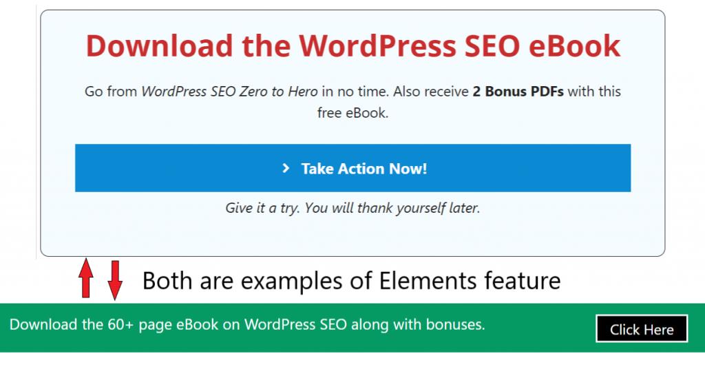 GeneratePress vs Astra: Elements feature